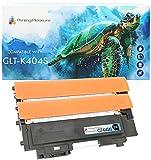 Printing Pleasure CLT-K404S 2 Cartuchos de Tóner Compatible para Samsung Xpress SL-C430 SL-C430W SL-C480 SL-C480FN SL-C480FW SL-C480W | Negro(x2)
