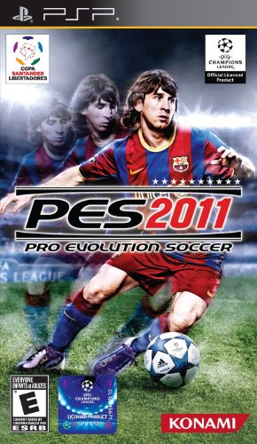 games for psps Pro Evolution Soccer 2011 - Sony PSP