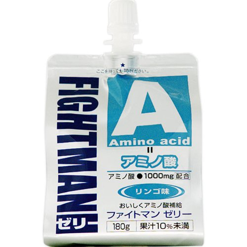 ファイトマン ゼリー(アミノ酸) 180g 10個セット