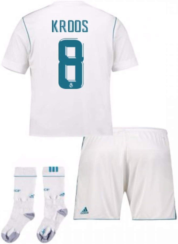 201717 Real Madrid Home Full Kit (Kroos 8)