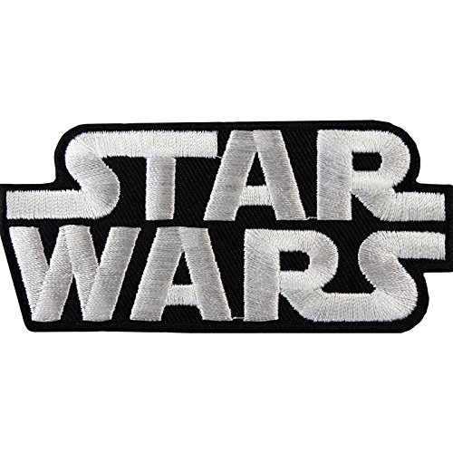 Star Wars Patch Embroidered Badge Eisen mit Jeans-T-Shirt mit Hut Fancy Kleid