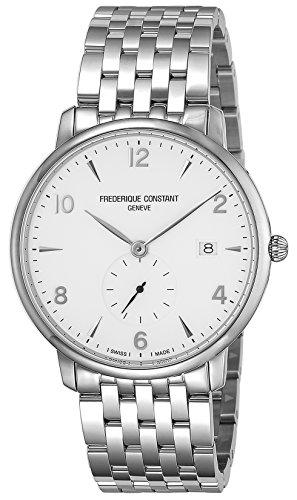 [フレデリック・コンスタント] 腕時計 スリムライン ホワイト文字盤 245SA5S6B メンズ 並行輸入品 シルバー