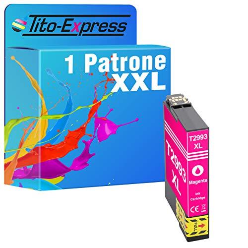 Tito-Express Cartucho de tinta ProSerie 1 compatible con Epson 29XL T2993 con 15 ml de color magenta XXL XP-235, XP-240, XP-245, XP-247, XP-250, XP-255, XP-257, XP-330, XP-332, XP-335, XP-340.