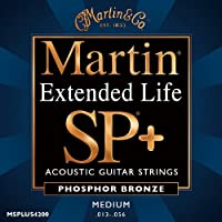 Martin / Extended Life SP+ Phosphor Bronze MSPLUS4200 Medium 13-56
