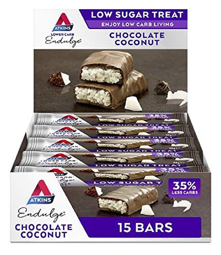 Endulge Chocolate Coconut Bar 15x35g