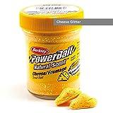 BerkleyPowerbait Natural Scent Trout Bait Glitter Cheese Glitter