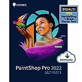 Corel PaintShop Pro 2022 Ultimate | Photo Editing & Graphic Design Software + Creative Bundle | Amazon Exclusive ParticleShop Starter Pack [PC Download]