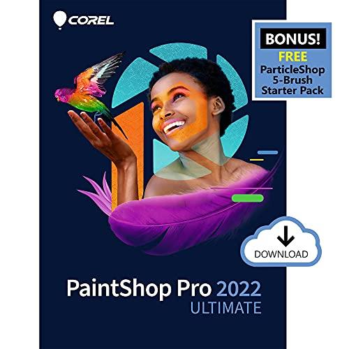 Corel PaintShop Pro 2022 Ultimate | Photo Editing & Graphic Design Software + Creative Bundle |...