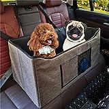 WMLWML Cama Plegable Impermeable del Asiento del Coche Animal doméstico del Perro Plegable multifunción portátil de la Seguridad del Coche de Refuerzo de Viajes