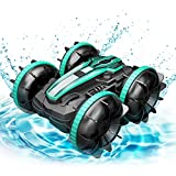 Double-Sided Remote Control Car 4WD for Kids, 2.4Ghz High Speed Off Road RC Trucks with 360 ° Spins...