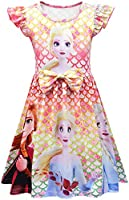 Heneray Baby Toddler Girl Summer Princess Nightgown 2-7 Years
