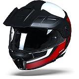 Casco Guardian E1 de Schuberth, rojo, blanco, negro, talla M
