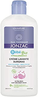 Eau Thermale Jonzac Organic Cosmetic Baby Care Ultra-Rich Hair and Body Wash, 250 ml