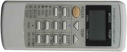Controle remoto HCDZ adequado para ar condicionado portátil de ar condicionado Sharp CRMC-A750JBEZ CV-P09LV AY-A9GR AY-A12...