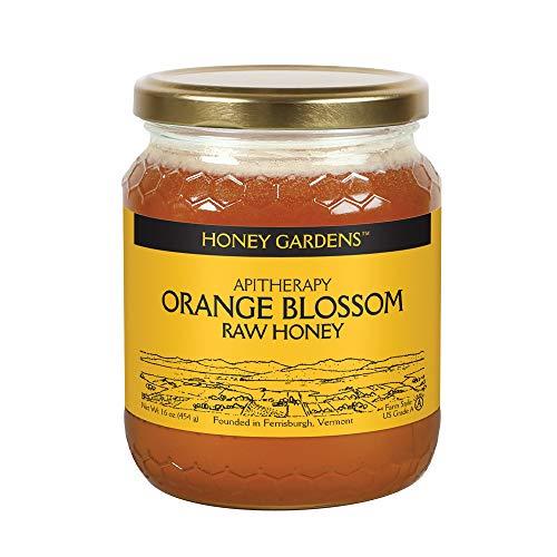 Honey Gardens Apiaries Raw Honey, Orange Blossom, 1 lb