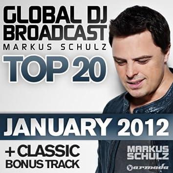 Global DJ Broadcast Top 20 - January 2012 (Including Classic Bonus Track)