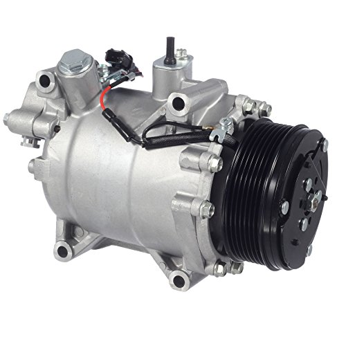 AUTEX AC Compressor & Clutch CO 4920AC 97580 Replacement for CR-V 2007 2008 2009 2010 2011 2012 2013 2014 Compatible with RDX 2007 2008 2009 2010 2011 2012