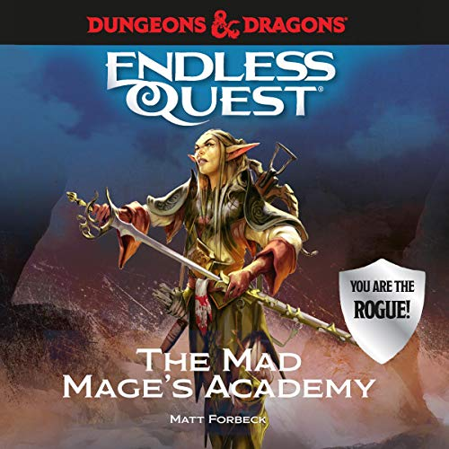Dungeons & Dragons: The Mad Mage's Academy audiobook cover art