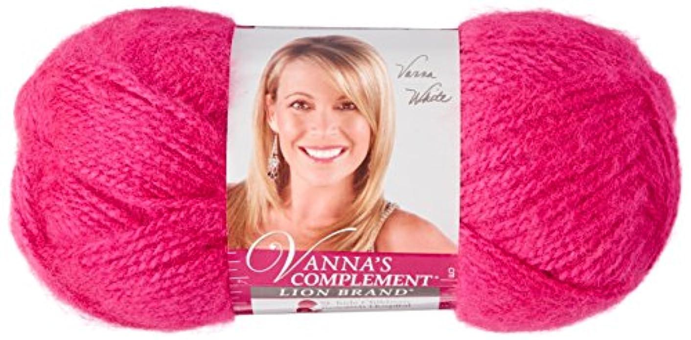 Lion Brand Yarn 866-139 Vanna's Complement Yarn, Berrylicious