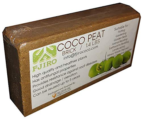 Fjiro Coco Peat Brick 1.4 lbs