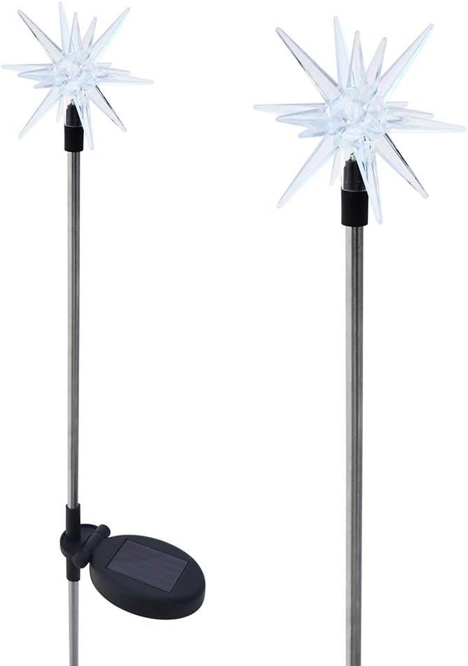 Solaration 1011-2 Brand new Sparkling Solar Star Set Garden Lights sale Stake