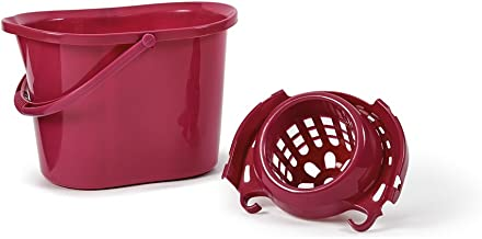 Perfect Classic Bucket and Wringer, Purple, 39 x 28 x 30.5 cm