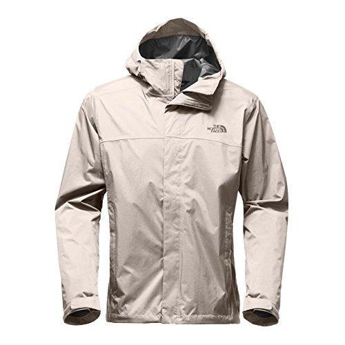 The North Face Men's Venture 2 Jacket (Rainy Day Ivory/Rainy Day Ivory, Medium)