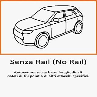 Aurilis Originale Portapacchi per Toyota Yaris II Minivan 5/Porte Minivan 5/Porte 10//2011/+ /10//2011/Yaris III 01//2006/