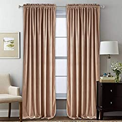 Image of StangH Velvet Curtains for...: Bestviewsreviews