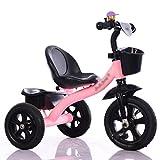 ZGP &Cochecito de bebé Triciclo para bebés, Pedal Convertible Trike Bicicleta de Empuje Bicicleta de conducción fácil Triciclo Cochecito de Juguete Mini niño Pequeño Triciclo