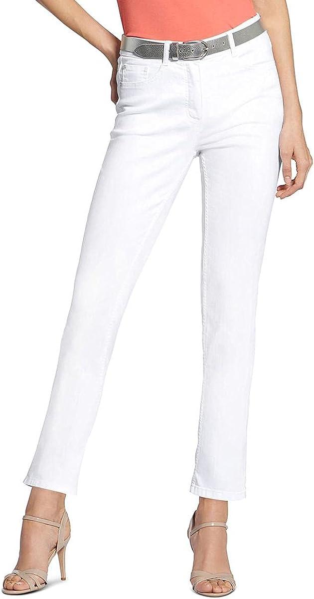 Basler Womens Embellished Denim Slim Leg Jeans