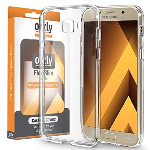 Galaxy A5 2017 Hülle - Orzly® FlexiHülle für Das Samsung Galaxy A5 [2017 Modell] 100prozent Transparent
