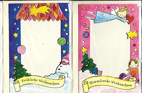 Diverse Winterzauber Foto-Grusskarten Doppelpack