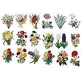 Seasonstorm 美しい花束 美しいハッピープランナー日記 日記 文房具 スクラップブック ステッカー トラベルアート用品
