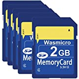 5 Pack SD Card 2GB Class 4 SD Flash Memory Cards 2G SLC Standard Secure Digital Card TW