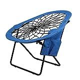 NECZXW1 La Chaise de Saut à l'élastique Ronde est Pliable, Confortable, légère et légère, en Tissu Oxford, Respirante et Durable, Plage de Camping et de randonnée intérieure et extérieure