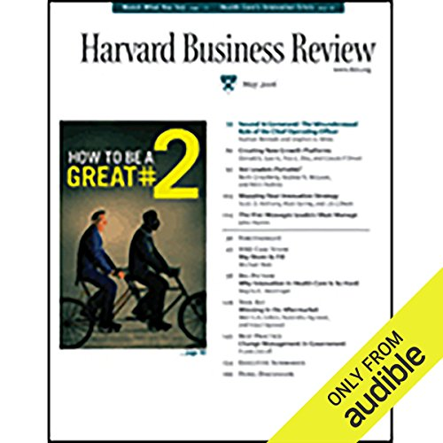 Harvard Business Review, May 2006 Titelbild