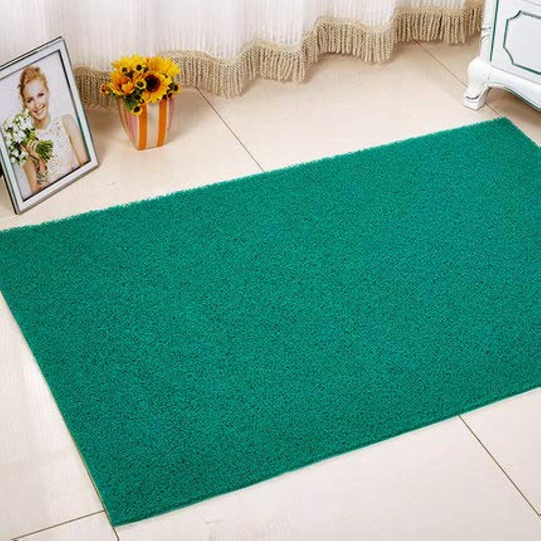 Doormat,Entrance Doormat Anti-skidding Waterproof Home Decor-Green 60x90cm(24x35inch)