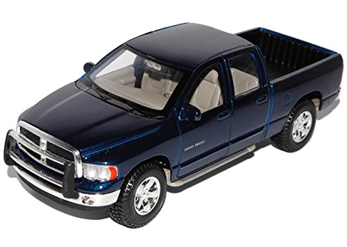 Maisto Dodge Ram Quad Cab Blau Pick-up 2002-2009 1/27 1/24 Modell Auto