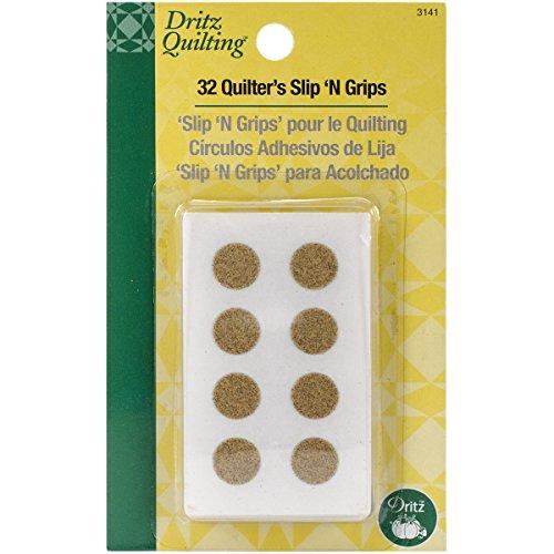 Dritz 3141 Quilter#039s Slip #039N Grips 32Count