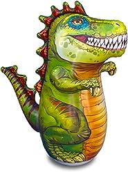 4. ImpiriLux Inflatable 48″T-Rex Dinosaur Kid's Punching Bag