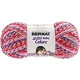 Bernat Softee Baby Colors Yarn, 4.25 oz, Pink Rainbow, 1 Ball