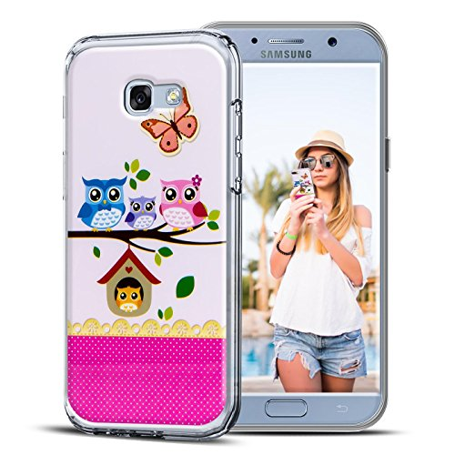 Conie PC33239 Picture Case Kompatibel mit Samsung Galaxy S3 Mini, Rückschale mit Motiven Silikon TPU Backcover für Galaxy S3 Mini Bumper Motiv Eule 2