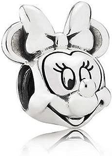 New Disney Pandora Parks Exclusive Minnie Mouse Portrait Bead Charm