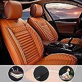 Coprisedili Universali per Auto 5 posti Set Completo per S uzuki Verona Protezione completa arancia