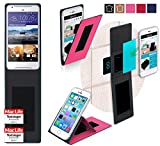 Hülle für HTC Desire 628 Tasche Cover Hülle Bumper | Pink | Testsieger