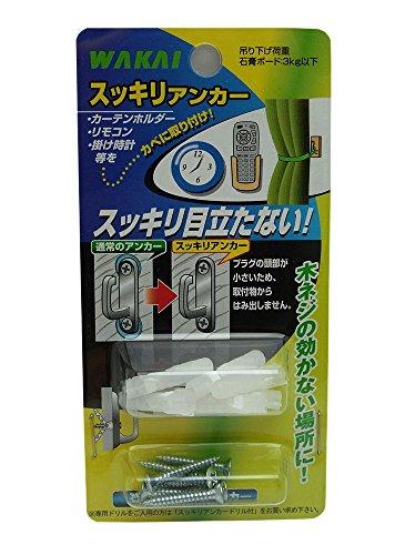 WAKAI 石膏ボード用 スッキリアンカー 8セット