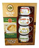 Caraway Natural Soup Gift Set with Mugs