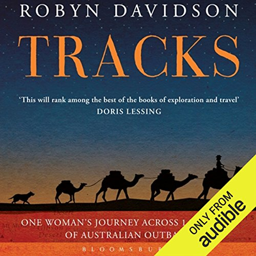 Tracks     A Woman's Solo Trek across 1700 Miles of Australian Outback               By:                                                                                                                                 Robyn Davidson                               Narrated by:                                                                                                                                 Angie Milliken                      Length: 8 hrs and 9 mins     168 ratings     Overall 4.5