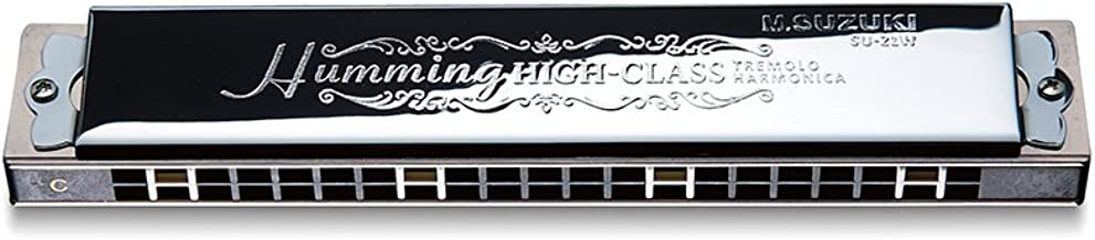 SUZUKI SU-21W C luxury Hamming 21 hole tremolo harmonica